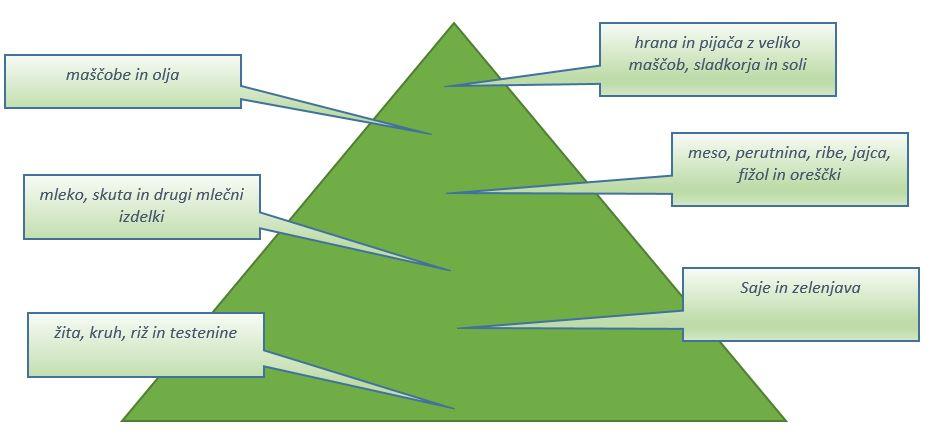 Prehranska Piramida Za Otroke